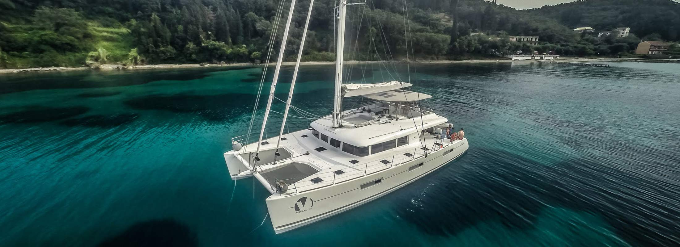 Ocean View Sailing Yacht for Charter Mediterranean Leeward Islands slider 1