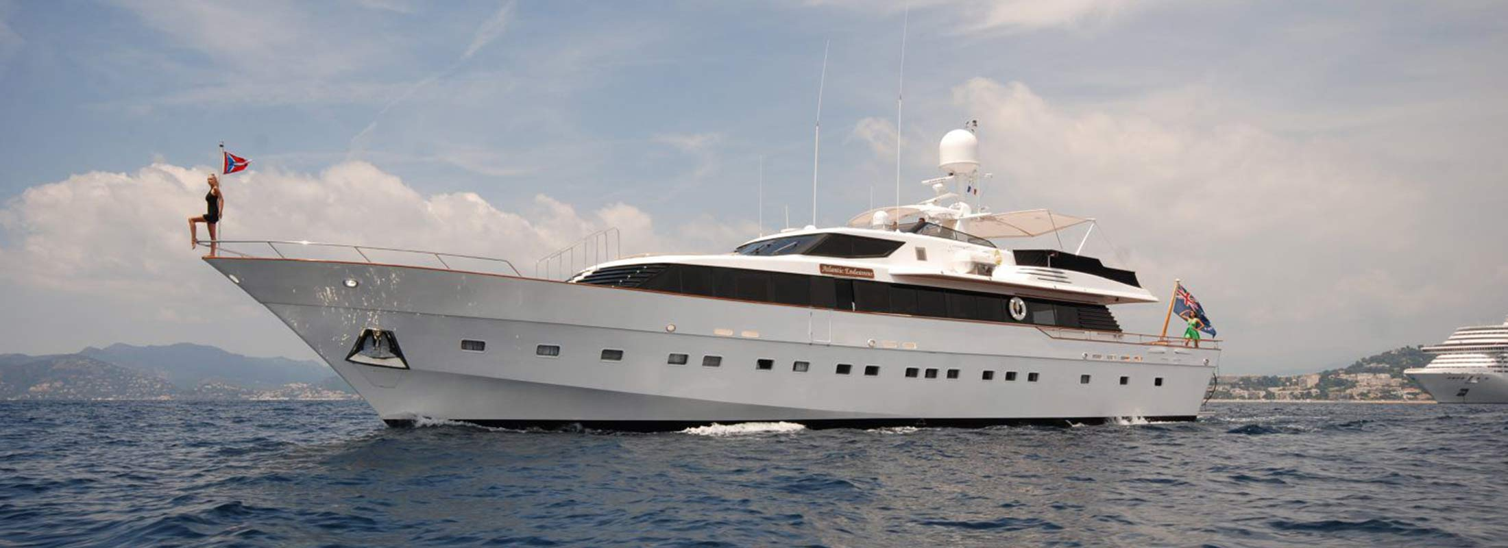 Atlantic Endeavour Motor Yacht for Charter Mediterranean slider 1