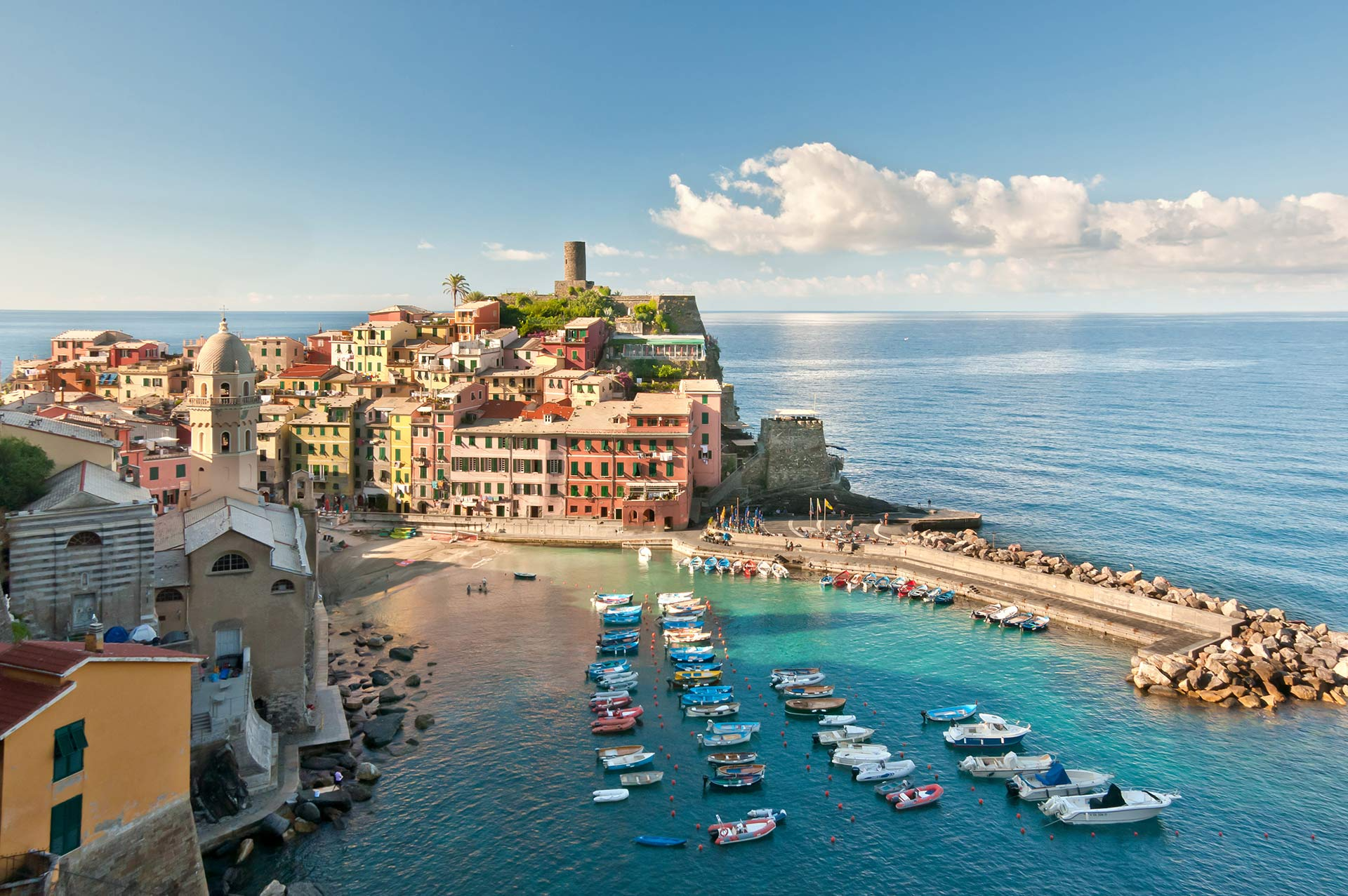 top yacht charter destinations mediterranean italian coast cinque terre and la spezia gallery 3