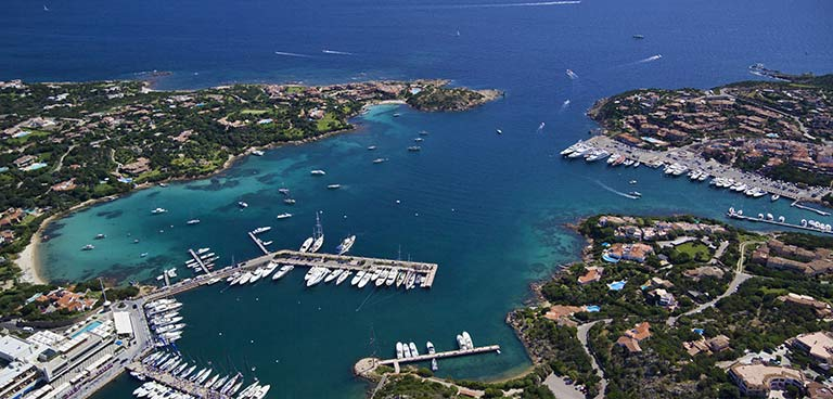 top yacht charter destinations mediterranean sardinia and corsica porto cervo preview
