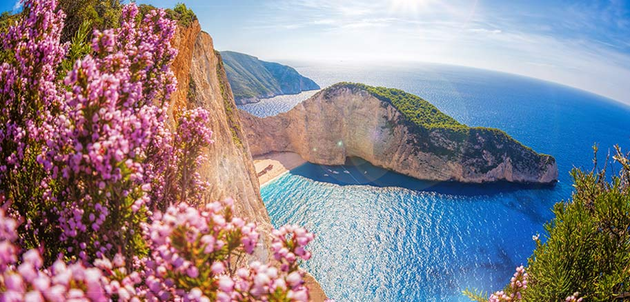 top yacht charter destinations mediterranean greece ionian islands zakynthos preview