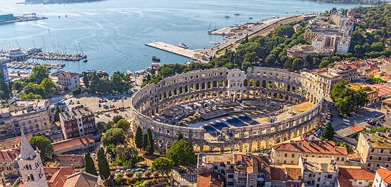 top yacht charter destinations adriatic sea croatia pula preview