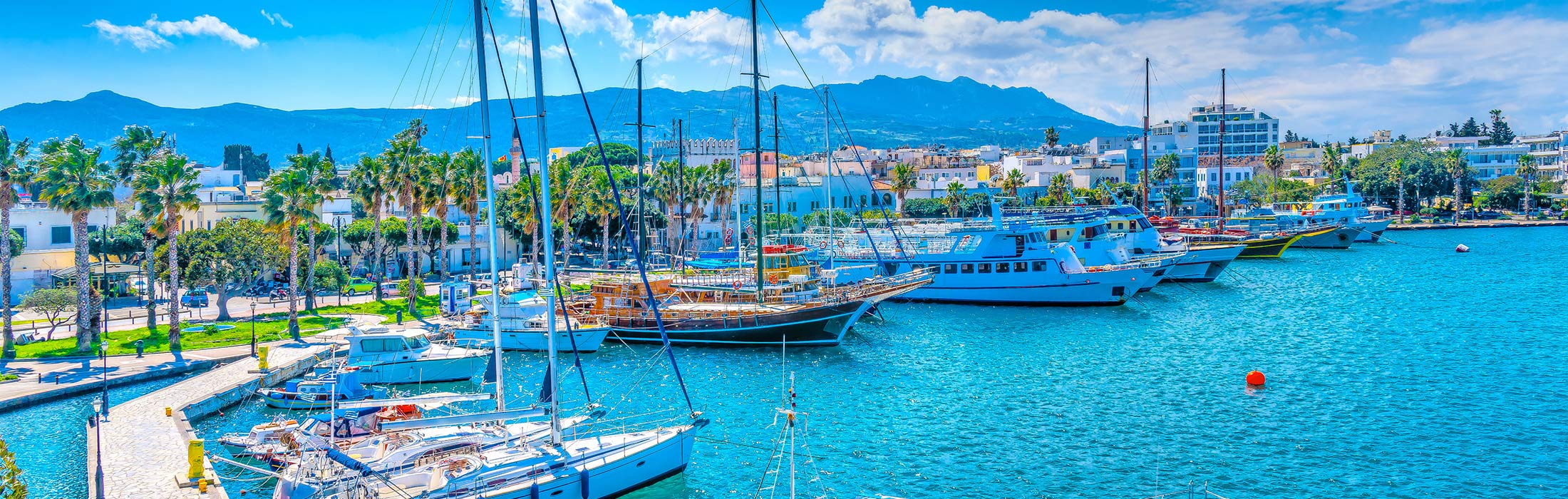 top yacht charter destinations mediterranean greece dodecanese north aegean islands kos main slider 2