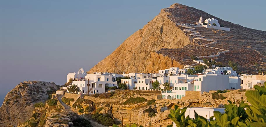 top yacht charter destinations mediterranean greece cyclades folegandros preview