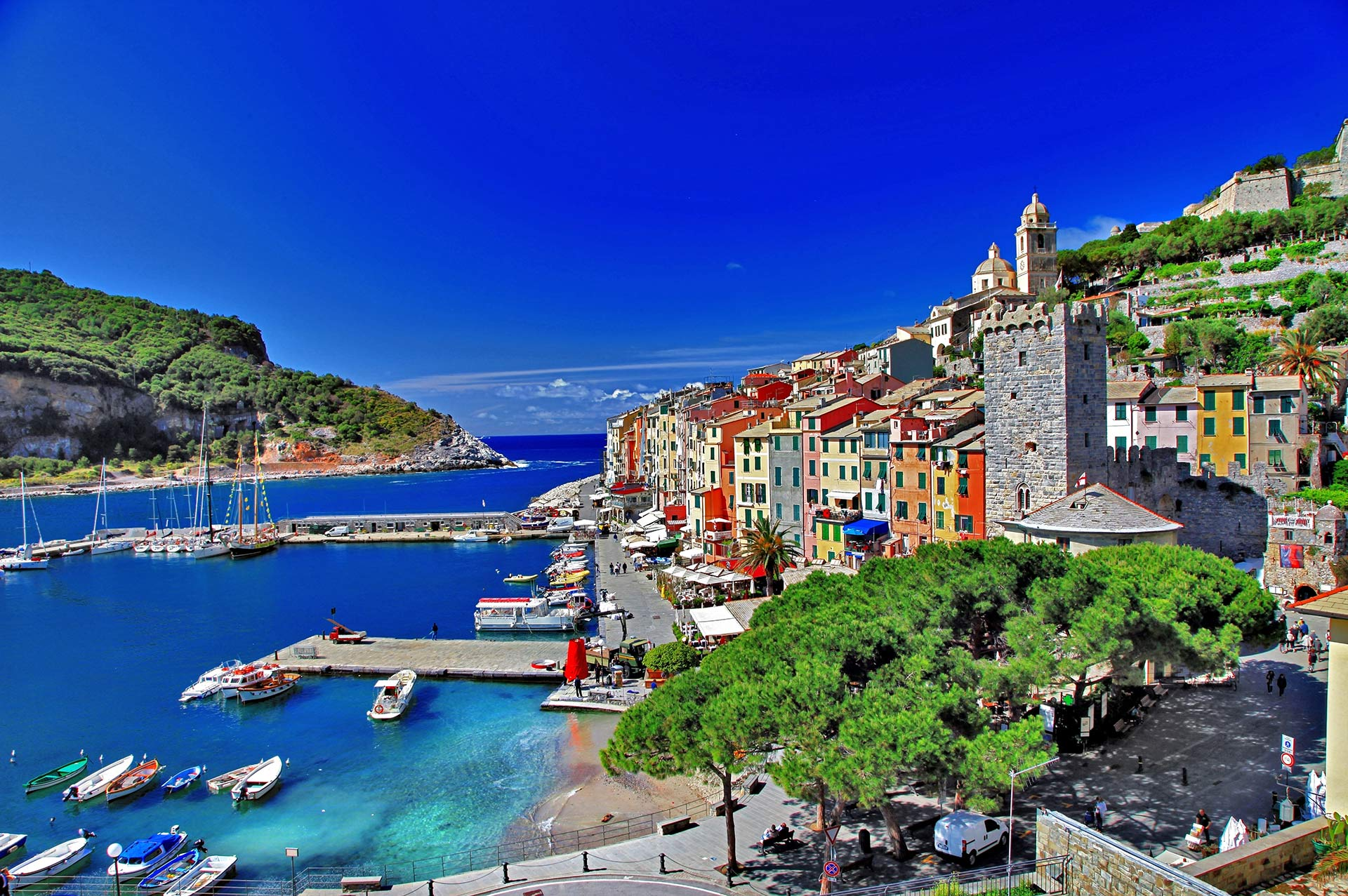 top yacht charter destinations mediterranean italian coast cinque terre and la spezia gallery 5