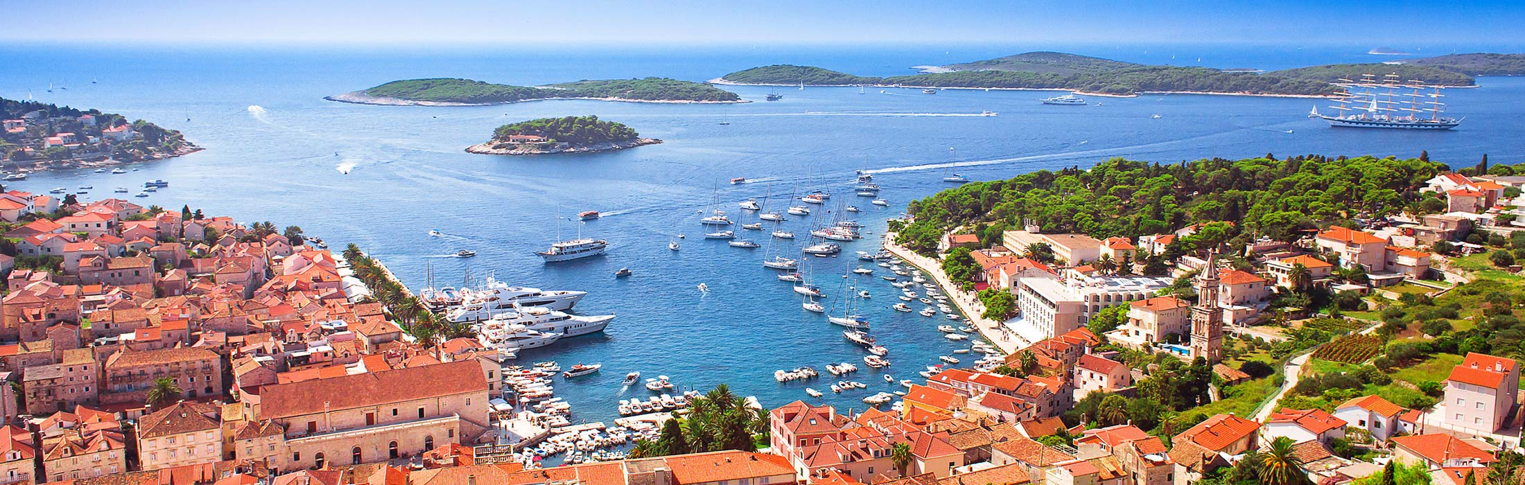 top yacht charter destinations adriatic sea croatia hvar main slider 1