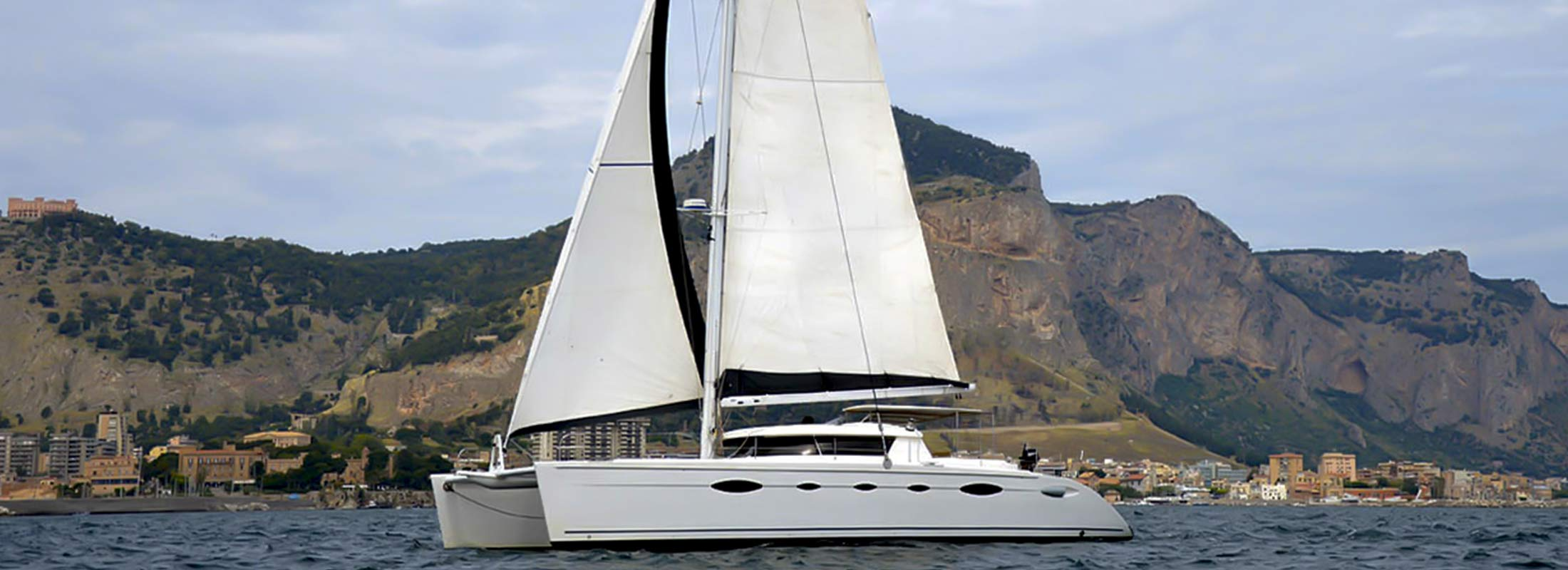 Whale Sailing Yacht for Charter Mediterranean slider 1