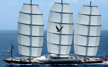 charter a sailing or motor luxury yacht maltese falcon thumbnail