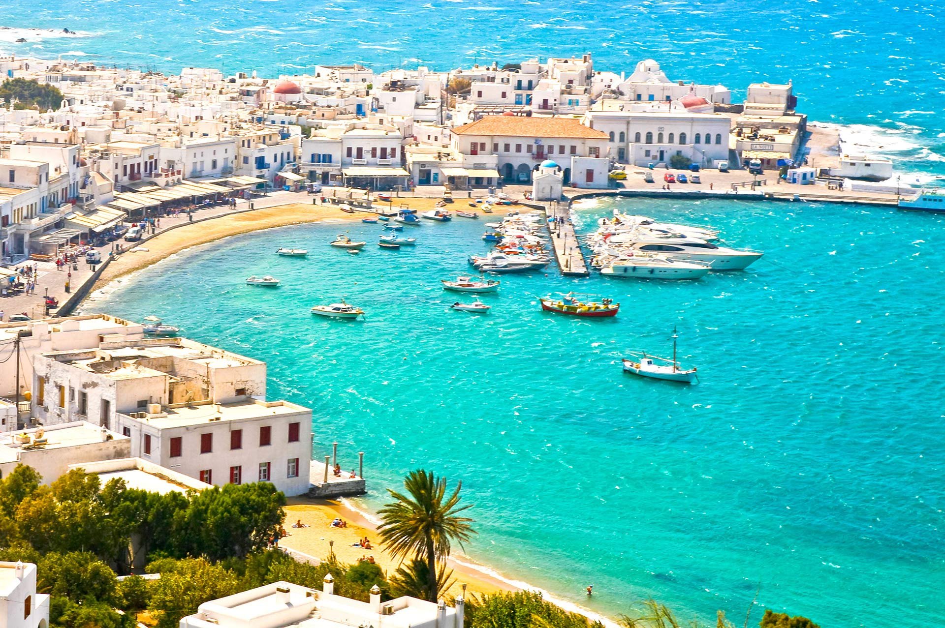top yacht charter destinations mediterranean greece cyclades mykonos gallery 3