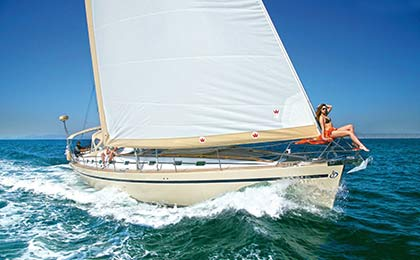 charter a sailing or motor luxury yacht mythos thumbnail
