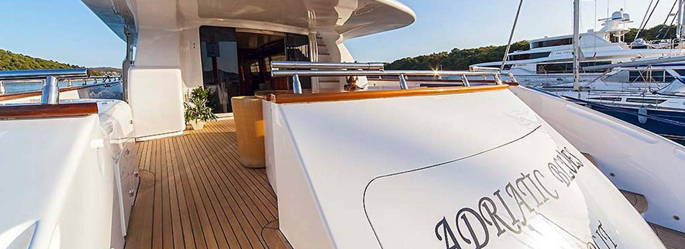 Adriatic Blues Motor Yacht for Charter Mediterranean slider 2