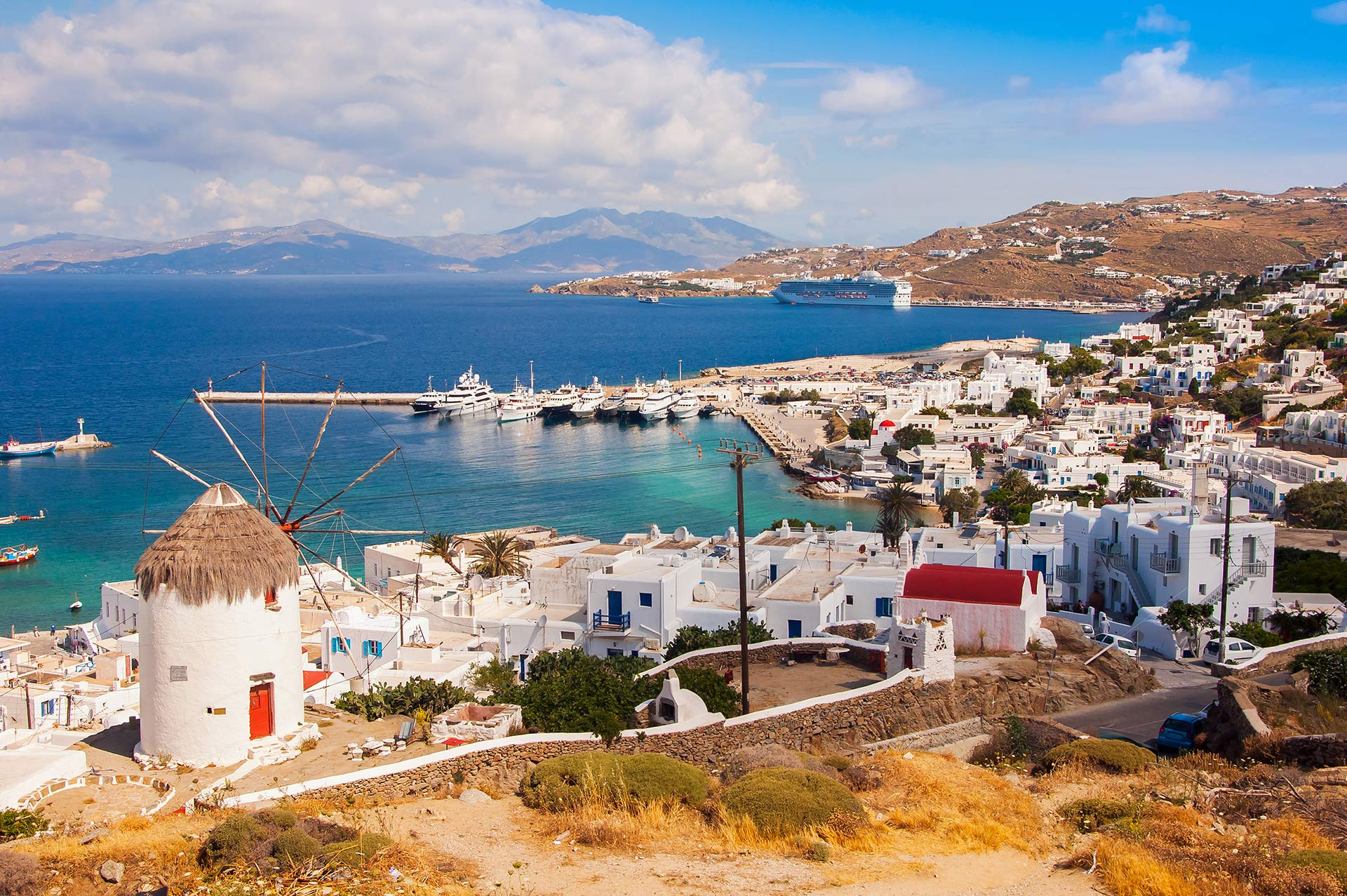 top yacht charter destinations mediterranean greece cyclades mykonos gallery 4