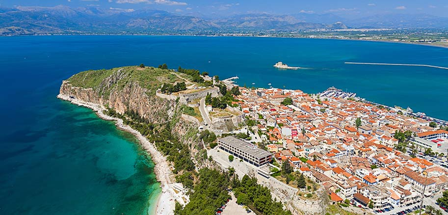 top yacht charter destinations mediterranean greece saronic gulf nafplio preview