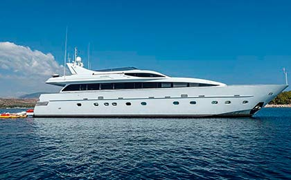 charter a sailing or motor luxury yacht tropicana thumbnail
