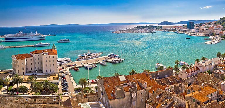 top yacht charter destinations adriatic sea croatia split preview