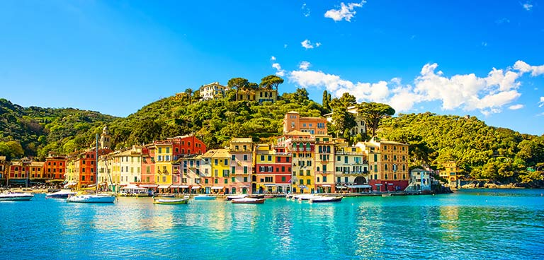 top yacht charter destinations mediterranean italian coast portofino preview