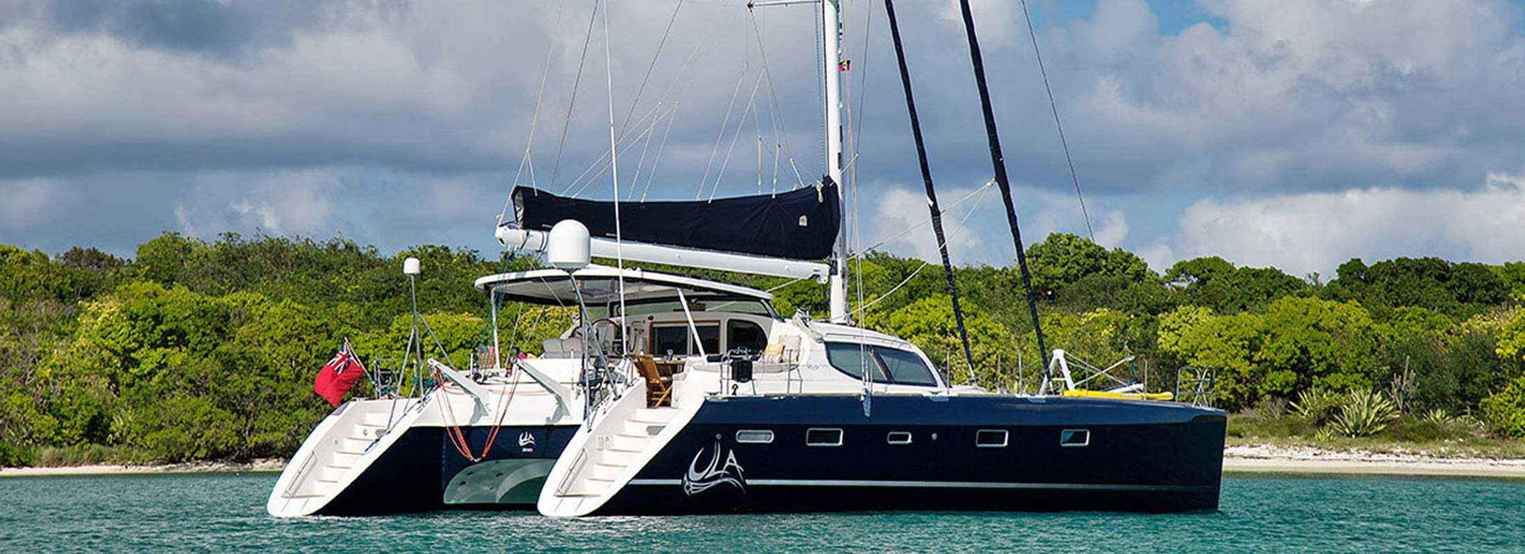 Ula Sailing Yacht for Charter Caribbean Sea slider 1