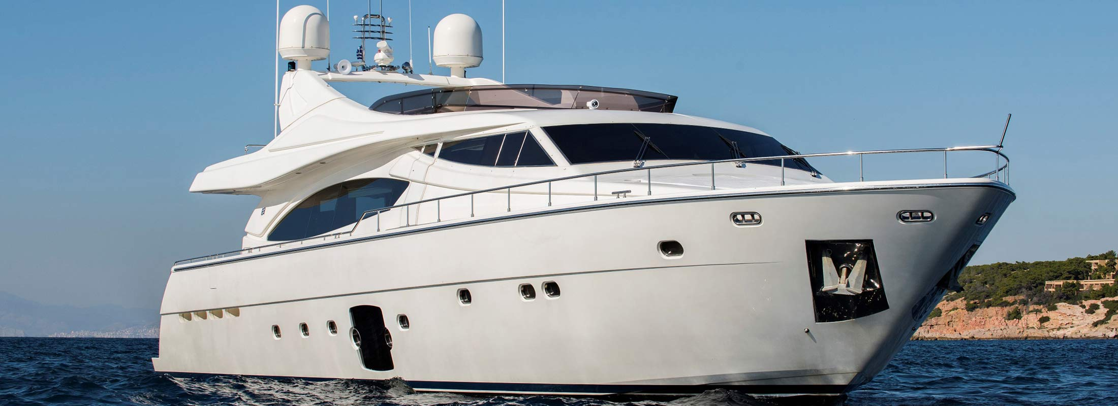 Day Off Motor Yacht for Charter Mediterranean slider 1