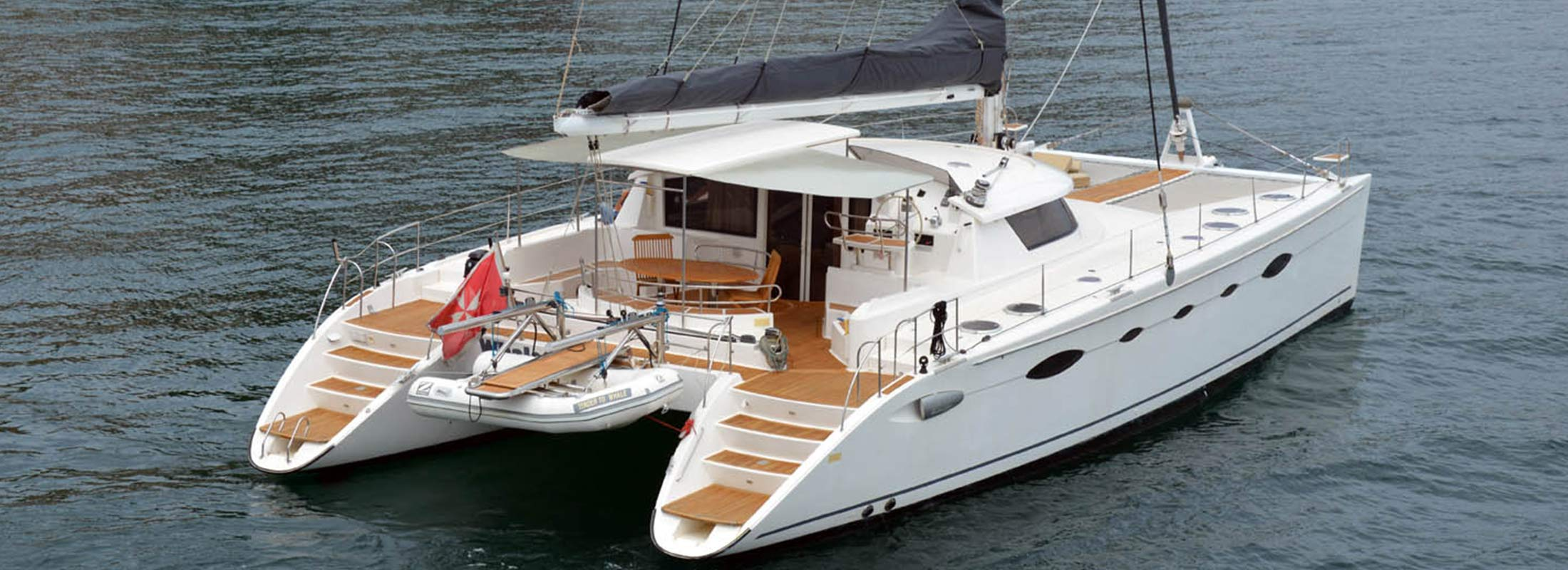 Whale Sailing Yacht for Charter Mediterranean slider 2