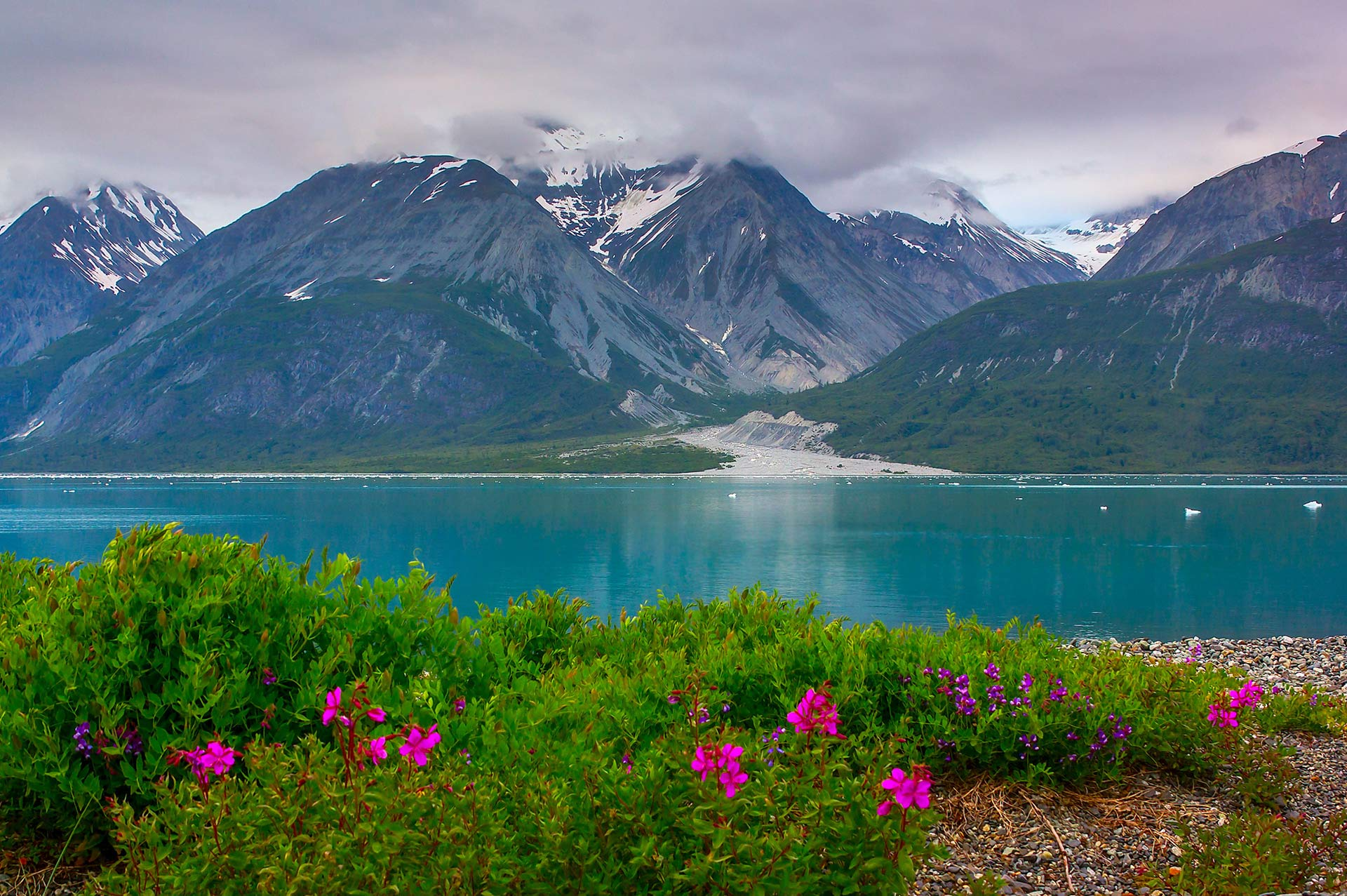 Yacht Charter Destination Alaska Highlight Springtime