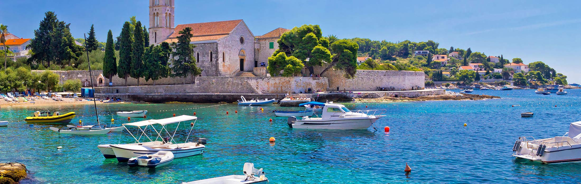 top yacht charter destinations adriatic sea croatia hvar main slider 2
