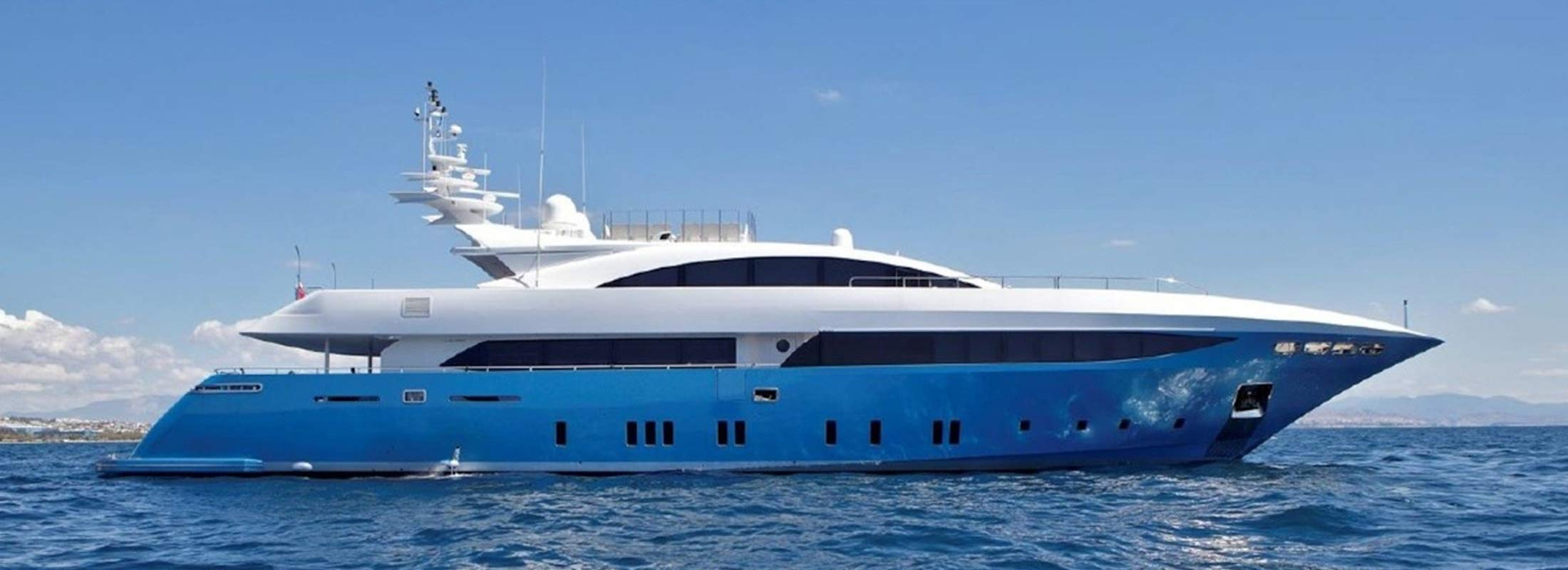 Barents Sea Motor Yacht for Charter Mediterranean slider 1