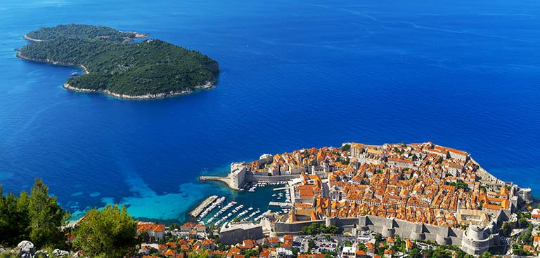 top yacht charter destinations adriatic sea croatia dubrovnik preview