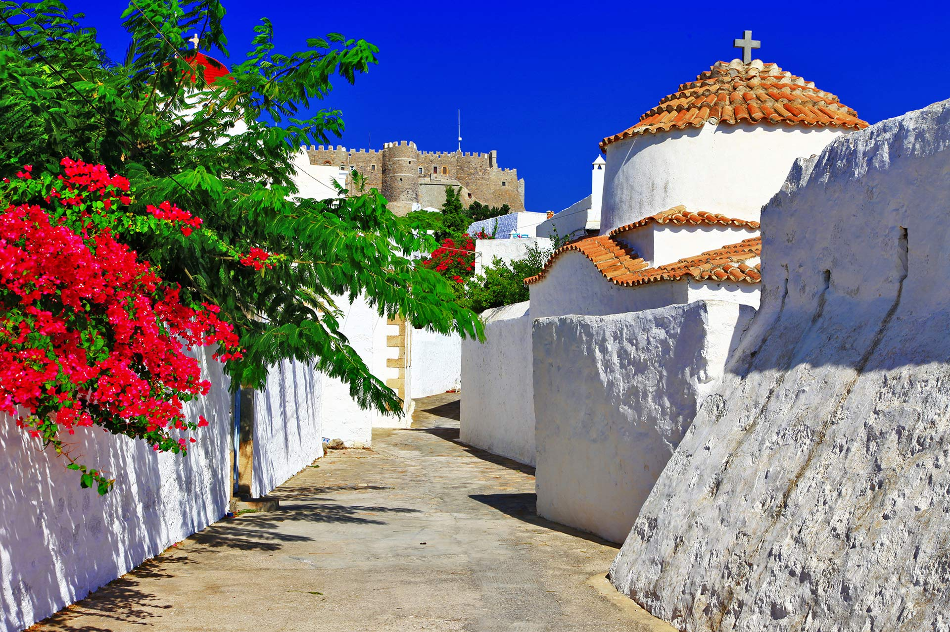 top yacht charter destinations mediterranean greece dodecanese north aegean islands patmos gallery 1