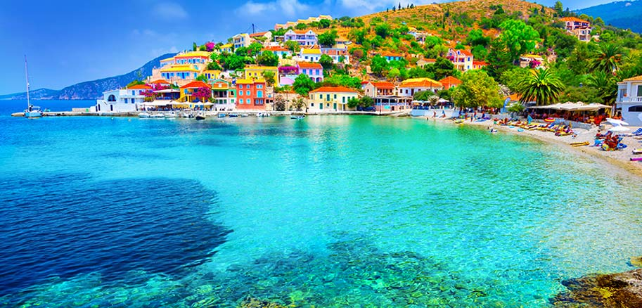 top yacht charter destinations mediterranean greece ionian islands kefalonia preview
