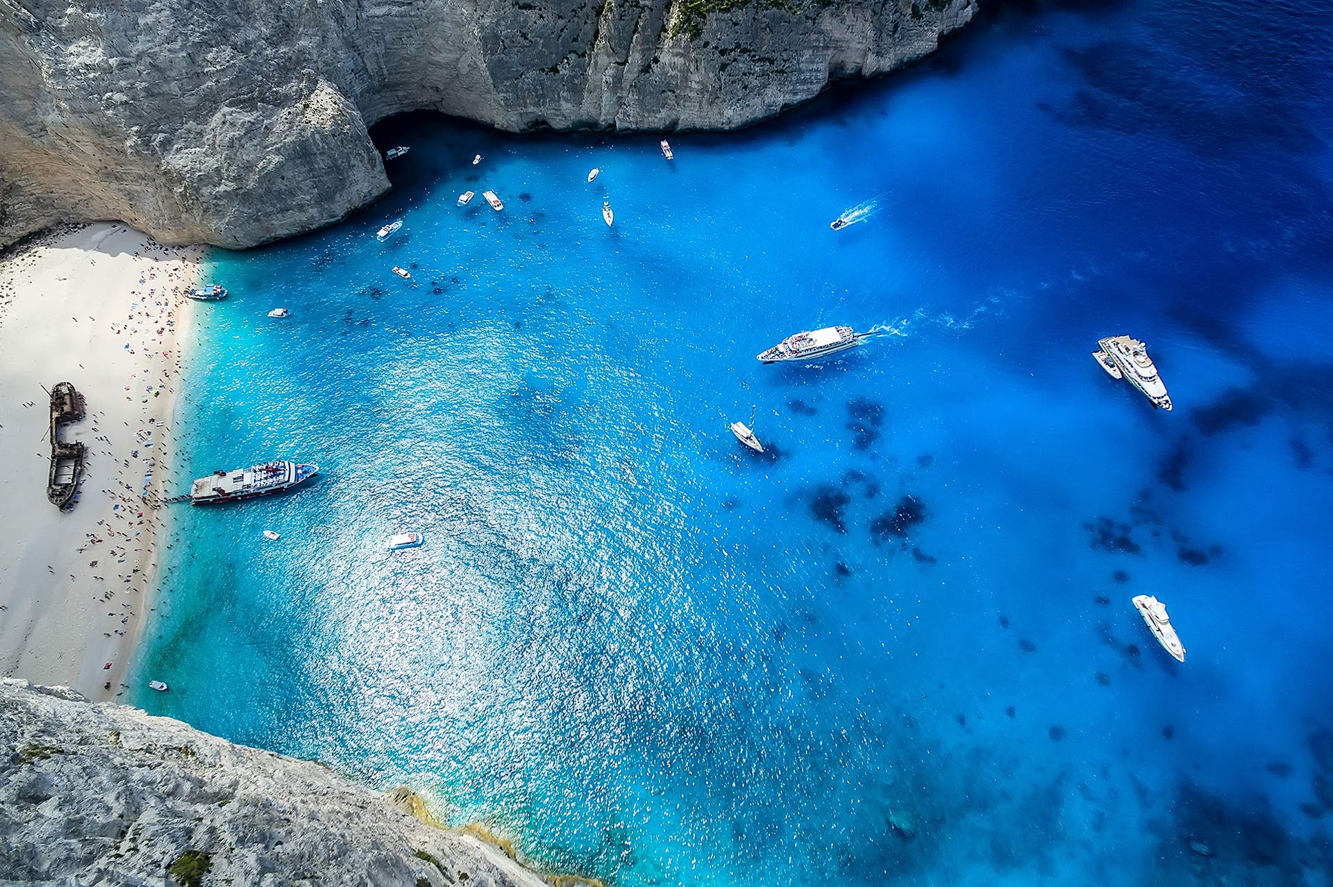 top yacht charter destinations mediterranean greece ionian islands zakynthos gallery 5
