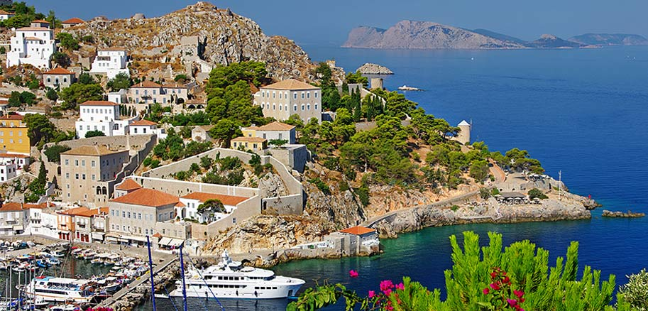 top yacht charter destinations mediterranean greece saronic gulf hydra preview