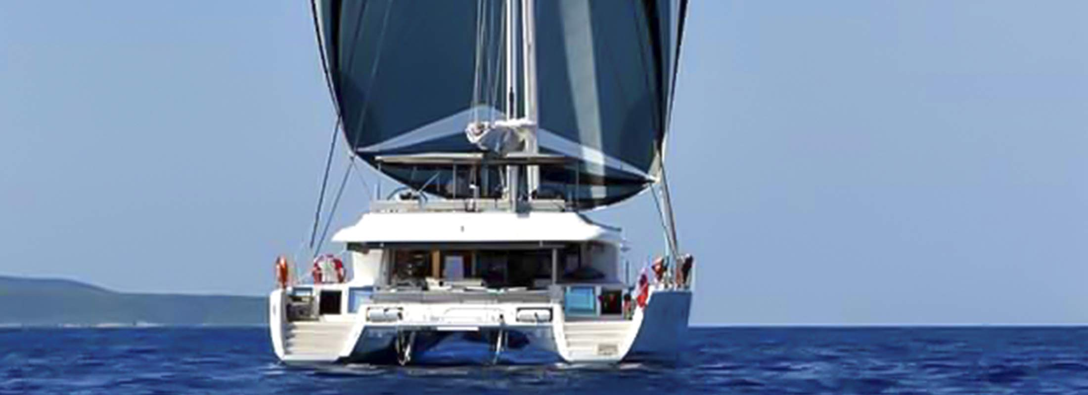 Ocean View Sailing Yacht for Charter Mediterranean Leeward Islands slider 2