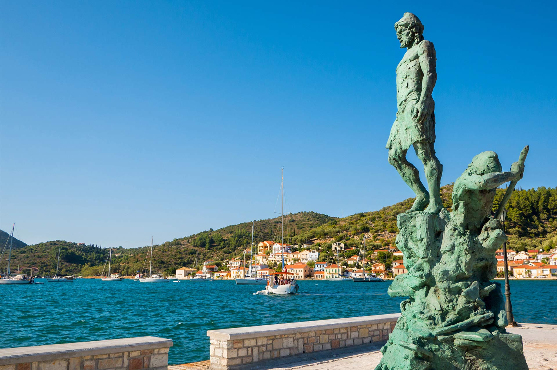 top yacht charter destinations mediterranean greece ionian islands ithaki gallery 2