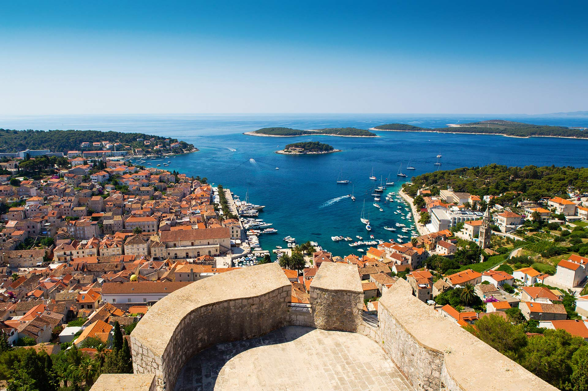 top yacht charter destinations adriatic sea croatia hvar gallery 1
