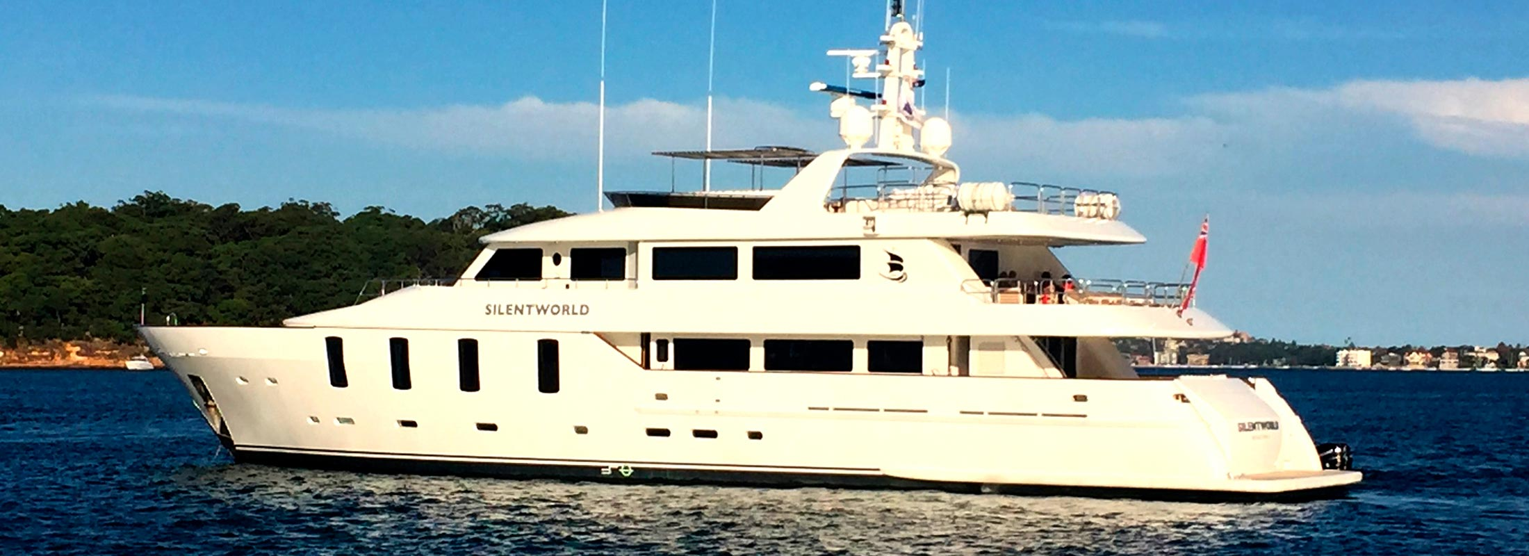 Silentworld Motor Yacht for Charter Cambodia Vietnam Great Barrier Reef slider 1