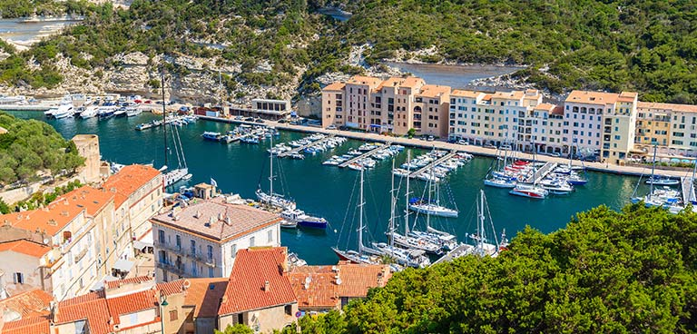 top yacht charter destinations mediterranean sardinia and corsica bonifacio preview