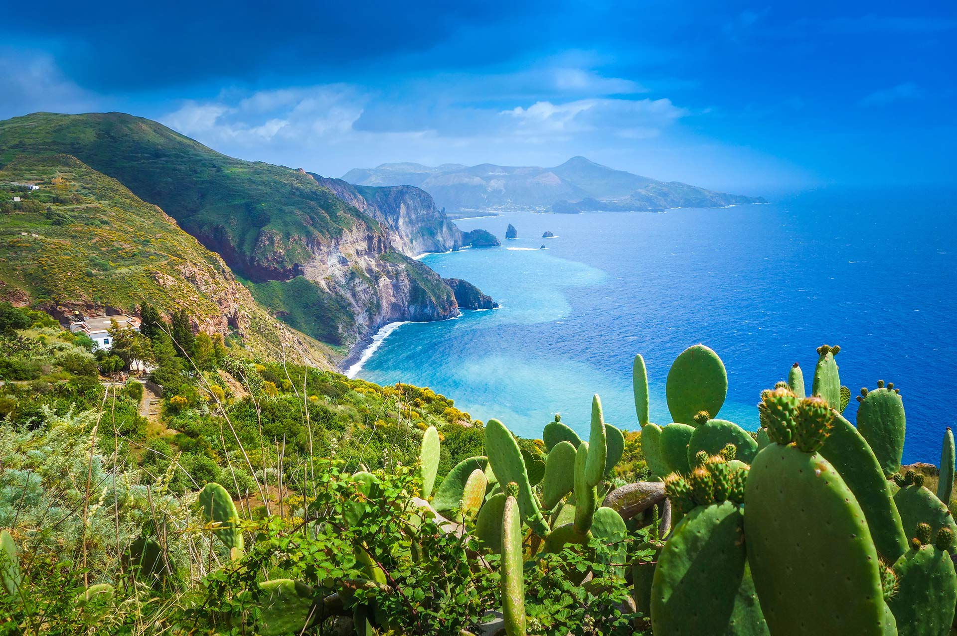 top yacht charter destinations mediterranean sicily and lipari islands lipari and the other aeolian islands gallery 1