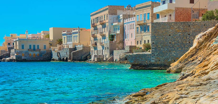top yacht charter destinations mediterranean greece cyclades syros preview