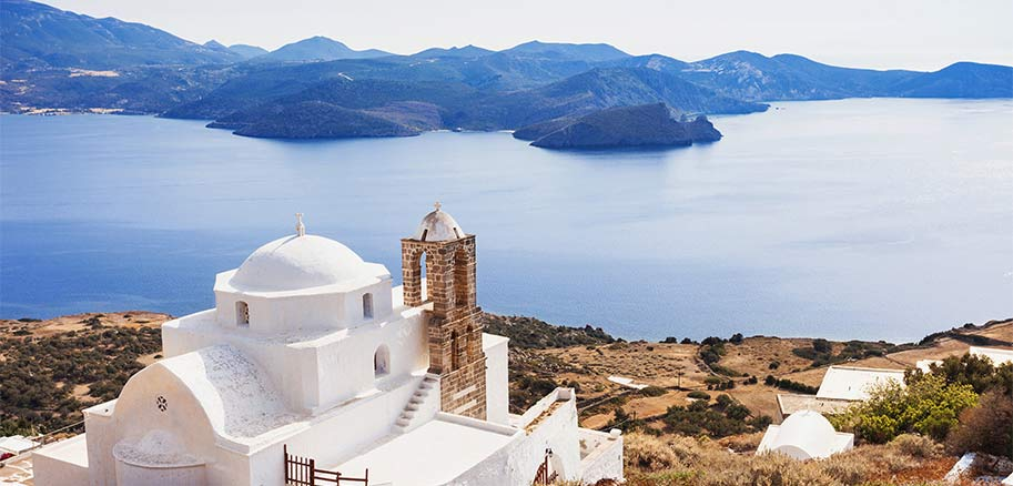 top yacht charter destinations mediterranean greece cyclades milos preview