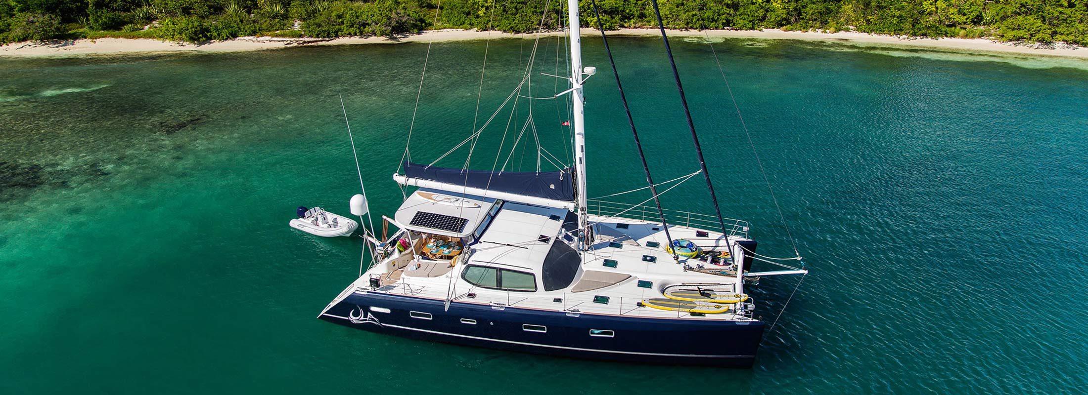 Ula Sailing Yacht for Charter Caribbean Sea slider 2