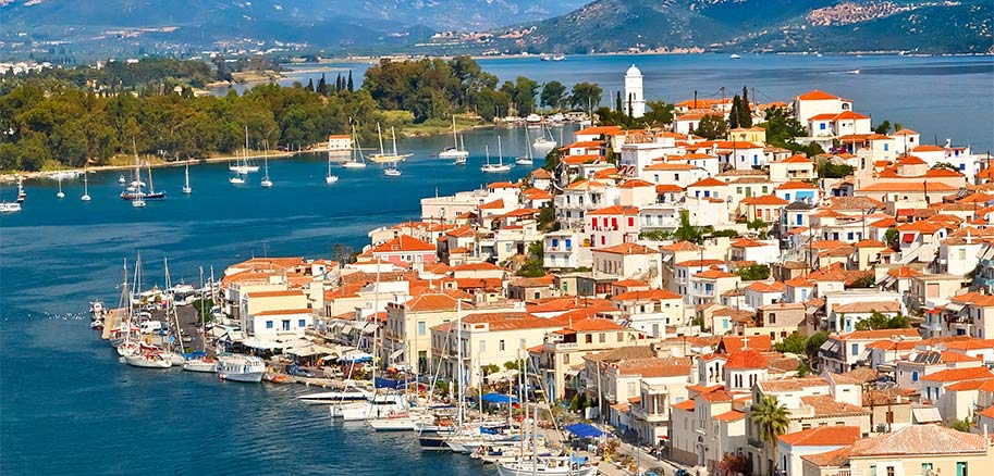 top yacht charter destinations mediterranean greece saronic gulf poros preview