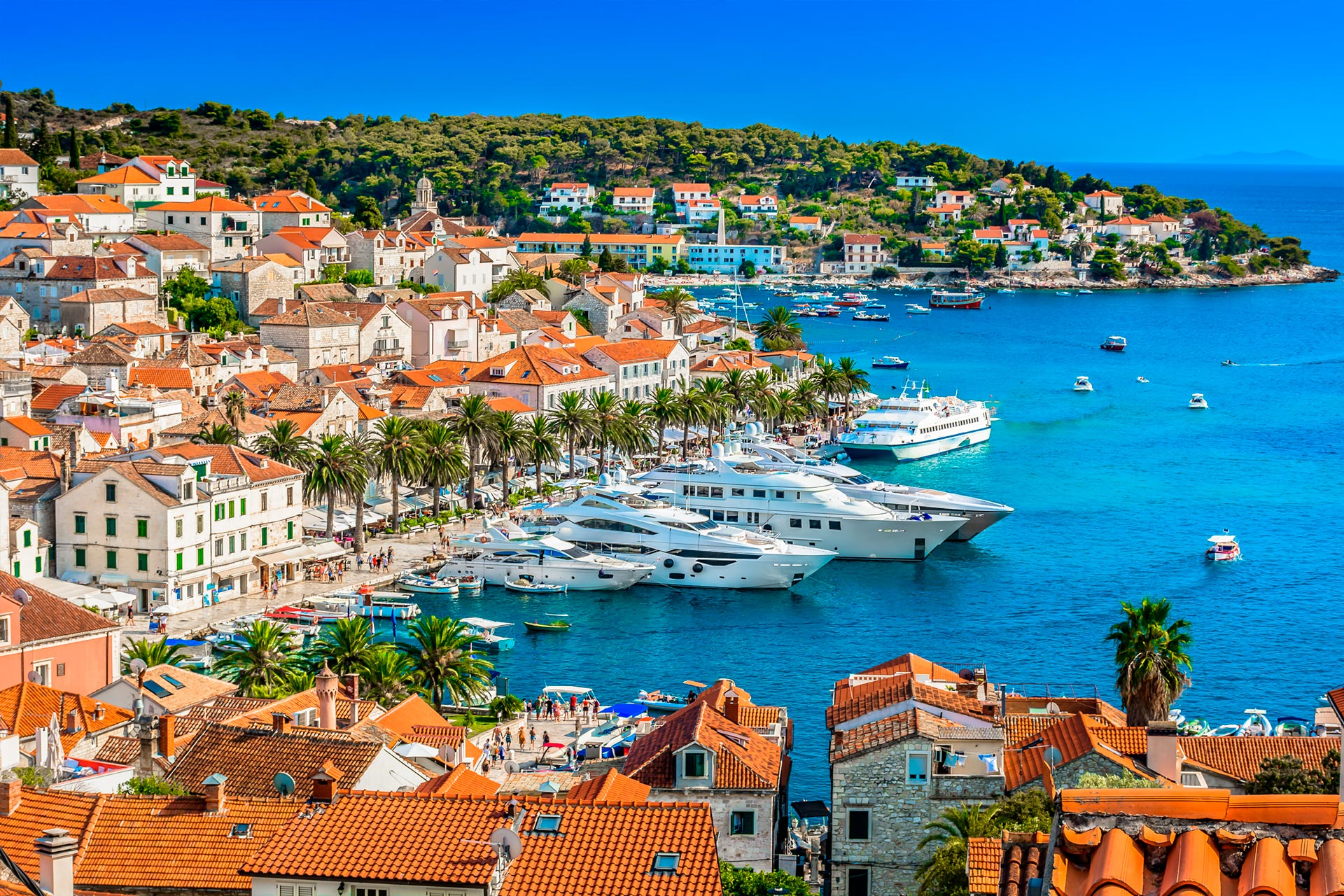 top yacht charter destinations adriatic sea croatia hvar gallery 4