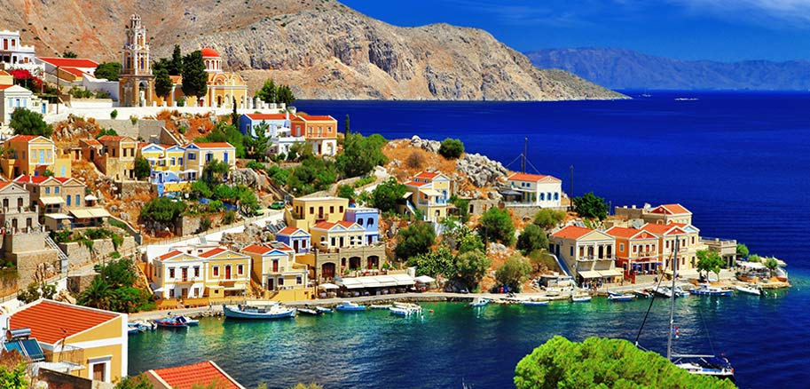 top yacht charter destinations mediterranean greece dodecanese north aegean islands symi preview