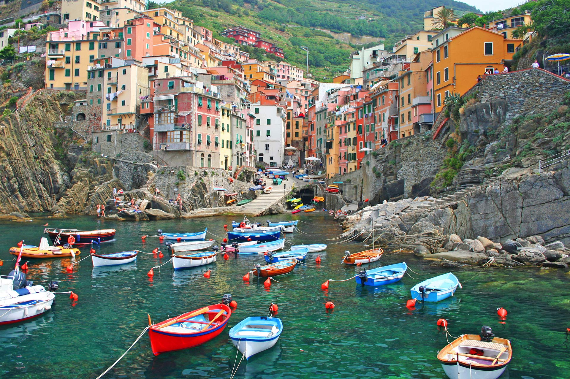 top yacht charter destinations mediterranean italian coast cinque terre and la spezia gallery 4