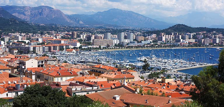 top yacht charter destinations mediterranean sardinia and corsica ajaccio preview