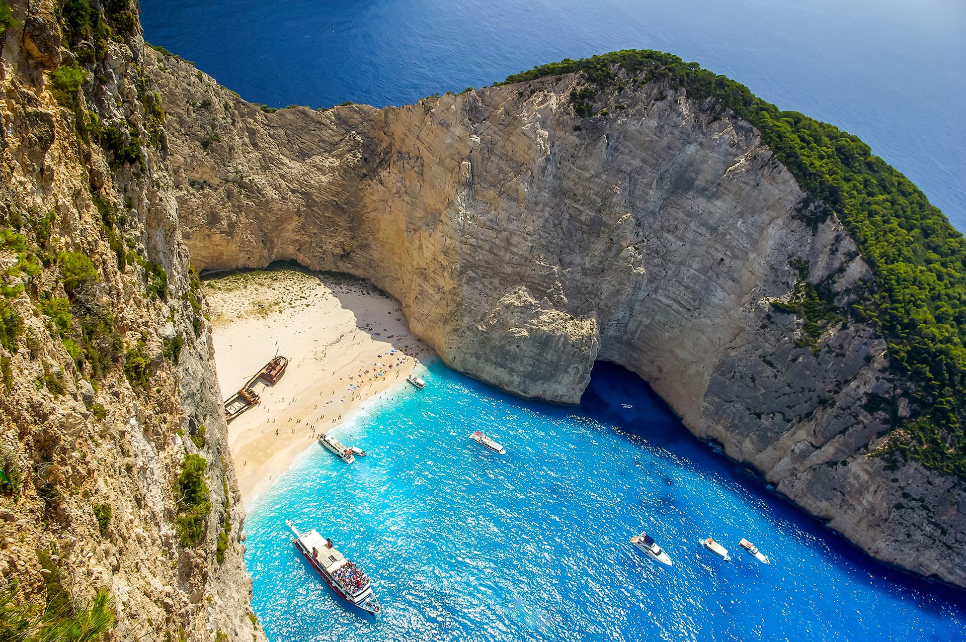top yacht charter destinations mediterranean greece ionian islands zakynthos gallery 1