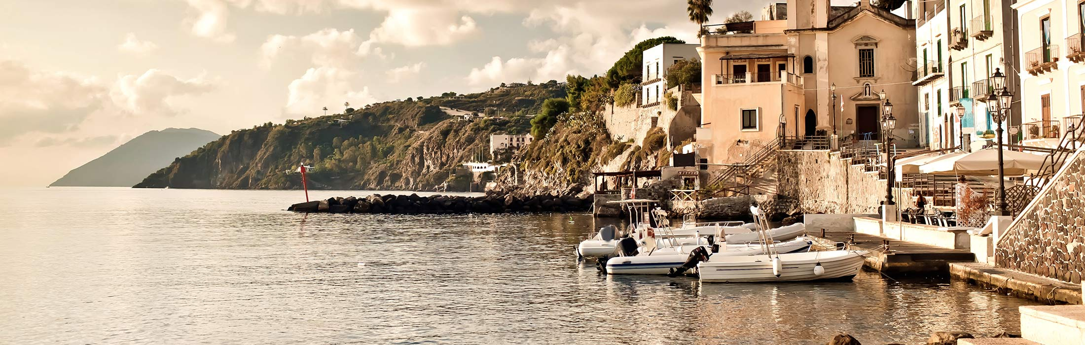 top yacht charter destinations mediterranean sicily and lipari islands lipari and the other aeolian islands main slider 2
