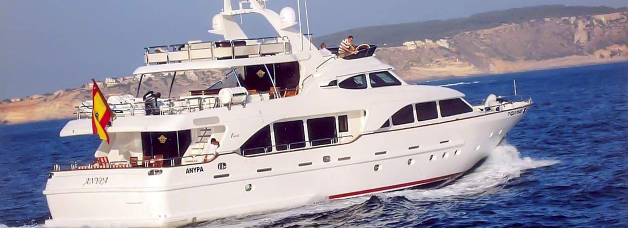 Anypa Motor Yacht for Charter Mediterranean slider 1