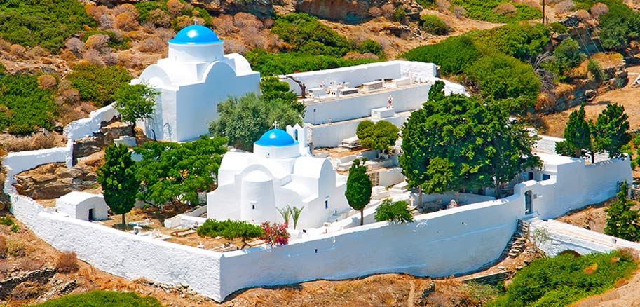 top yacht charter destinations mediterranean greece cyclades sifnos preview