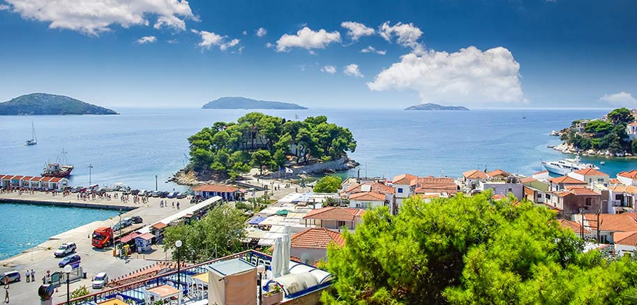 top yacht charter destinations mediterranean greece sporades skiathos preview